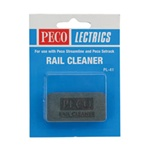 Peco PL41 Abrasive Rubber Block Rail & Track Cleaner 552-PL41