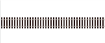 "Peco SL-100F HO Code 75 Wooden Tie Flex Track Streamline 36"" Section"