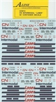 A Line 25812 HO Container Decals Canadian National Intermodal 48'