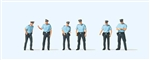 Preiser HO 10743 German Police in Summer Uniforms Pkg 6