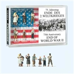 Preiser HO 13404 75th Anniversary End of World War II Pkg 6