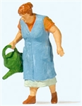 Preiser 28207 HO Old Lady Watering Flowers Individual Figure