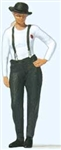 Preiser 28230 HO Woman in Bowler Hat Individual Figure