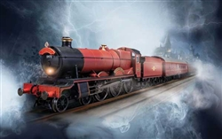 Rivarossi R1234M HO Harry Potter Hogwarts Express Train Set Standard DC