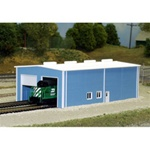 RIX5418007 Rix Products N KIT Two Stall Enginehouse