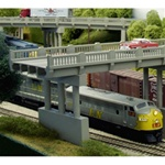 Rix 6280152 N 50' Early Highway Overpass w/1 Pier