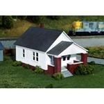 RIX6280202 Rix Products HO KIT Maxwell Ave House w/Front Porch