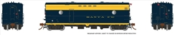 Rapido 107302 HO Steam Heater Generator Car Santa Fe 9002