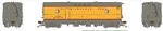 Rapido 107333 HO Steam Heater Generator Car Milwaukee Road 74 1955 UP