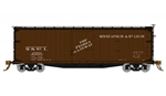 Rapido 130106 HO USRA 40' Double-Sheathed Wood Boxcar 4 Pack Minneapolis & St Louis