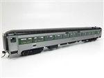 Rapido 17233 HO NH 8600 Series Stainless Steel Coach No Skirts Penn Central #2502