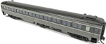 Rapido 509140 N Osgood Bradley LW 10-Window Coach No Skirts Southern Pacific 2204 2-Tone Gray Hatch Roof