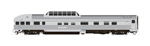 Rapido 550007 N The Canadian 10-Car Passenger Set Painted Unlettered Stainless Steel
