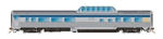 Rapido 550111 N Skyline Dome-Coffee Shop VIA Rail Canada Original Stainless Steel