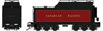 RPI600093 Rapido Trains Inc HO 12,000-Gallon Coal Tender w/Oil Conversions,CPR