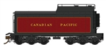 RPI600094 Rapido Trains Inc HO12,000-Gallon Coal Tenderw/Commonwealth Trks,CPR