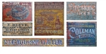 T2 Decals OSGHOS014 O Ghost Sign Decals Set #14