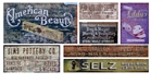 T2 Decals OSGHOS038 O Ghost Sign Decals Set #38