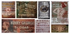 T2 Decals OSGHOS040 O Ghost Sign Decals Set #40