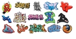 T2 Decals OSGRAF013 O Graffiti Decals Set #13