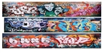 T2 Decals OSGRAF035 O Graffiti Decals Set #35