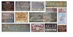T2 Decals OSGHOS031 O Ghost Sign Decals Set #31