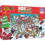 Train Enthusiast 119284 101 Things to Spot Christmas Puzzle