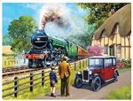 Train Enthusiast 13713 The Flying Scotsman Puzzle 1000 Pieces 20 x 27""