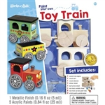 Train Enthusiast 214174 Paint Your Own Toy Train