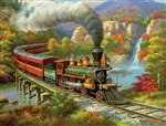Train Enthusiast 36652 Fall River Ltd. Puzzle 500 Pieces