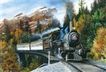 Train Enthusiast 57780 Puzzle Autumn Mist 1000 Pieces