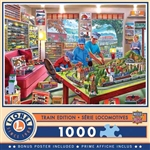 Train Enthusiast 720324 The Boy's Playroom 1000pc