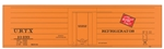 Tichy 10019O O Railroad Decal Set Milwaukee Road/URTX Ribbed-Side Reefer