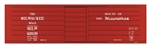 TIC10021O Tichy Train Group O MILW Rib Side Boxcar 293-10021O