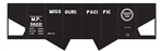 Tichy 10029S S Railroad Decal Set Missouri Pacific USRA 2-Bay Hopper
