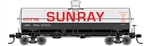 Tichy 10043S S Railroad Decal Set Sunray 10 000-Gallon LPG Tank Car