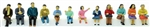 Tomy 267881 N Sitting People Pkg 12