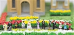 Tomy 281337 N Japanese Wedding Scene Figures pkg 12 738-281337