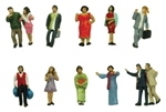 Tomy 282884 N People in Entertainment District Pkg 12