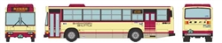 Tomy 303374 N Hino Ribbon Bus Shigakogen Shuttle Cream Japanese Lettering
