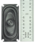 TCS 1553 WOW Speaker Oval 1.37 x .63 35 x 16mm 745-1553