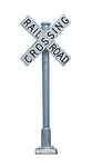Tomar 868 HO Railroad Crossbucks Brass Pkg 2