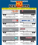 Trainworx 8030103 HO Semi Trailer Reading RG 3