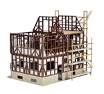 Vollmer 46889 HO Half-Timbered House Under Construction Kit