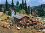 Vollmer 47741 N Log Mountain Lodge Kit