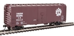 Walthers 1336 HO 40' AAR 1944 Boxcar Canadian National #487757