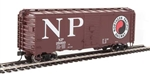 Walthers 1348 HO 40' AAR 1944 Boxcar Northern Pacific #25034