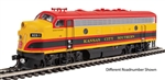 Walthers 19953 HO EMD F7 A ESU Sound and DCC Kansas City Southern #2 Meridian