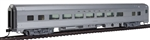 Walthers 30002 HO 85' Budd Large-Window Coach Santa Fe