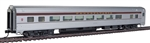 Walthers 30006 HO 85' Budd Large-Window Coach Pennsylvania Tuscan
